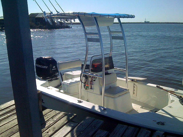 t top for 2007 Mako 1801 center console boat