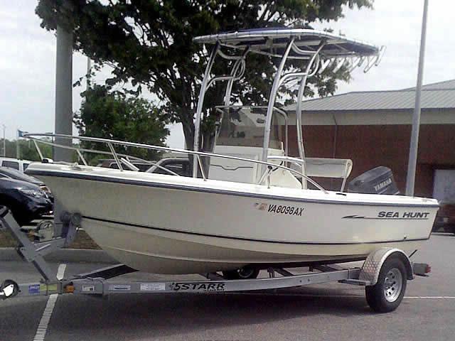 T top for 2002 Triton Sea Hunt boats 40897-2