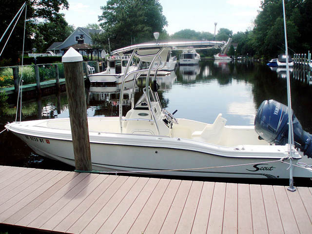 T top for 2003 Scout 185 boats 43127-2