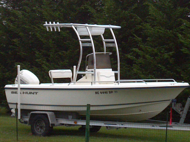 t top for 2001 sea hunt triton 172 center console boat