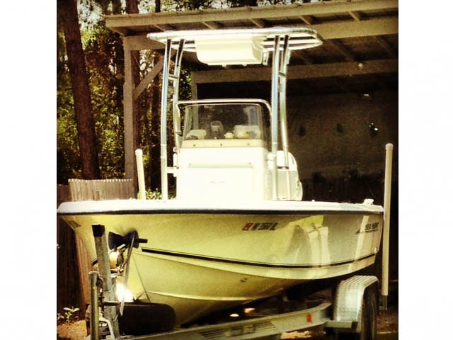 T top for 2005 Sea Hunt Navigator 22' boats 48414-2