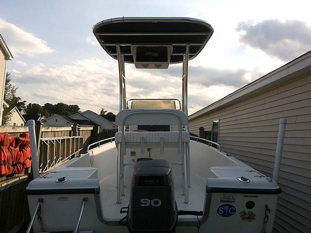 t top for 2002 Sea Hunt 172CC center console boat