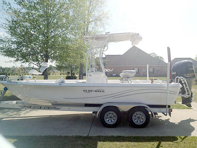 t top for 2012 Blue Wave Pure Bay 2200 center console boat