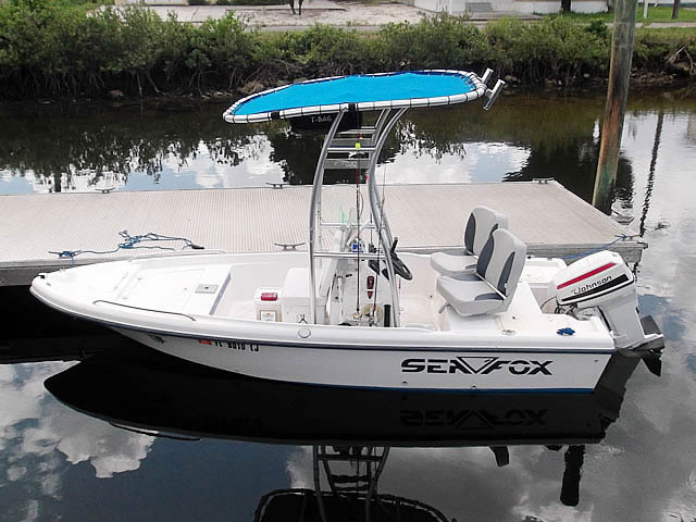 T top for 2001 Sea Fox 160 boats 69831-2