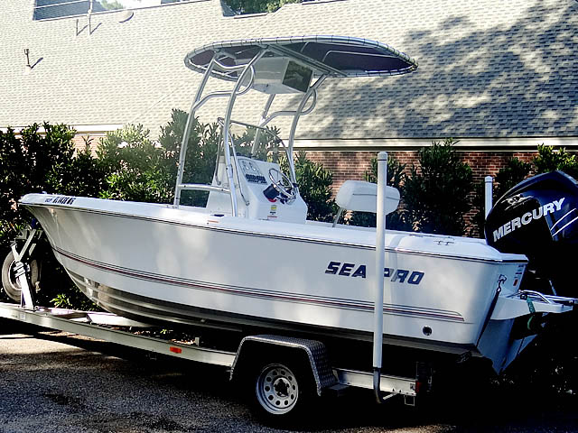 T top for 2008 Sea Pro 186CC boats 72502-1