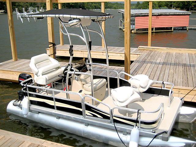 T top for Godfrey Sea Ryder Pontoon / Custom boats 73546-3