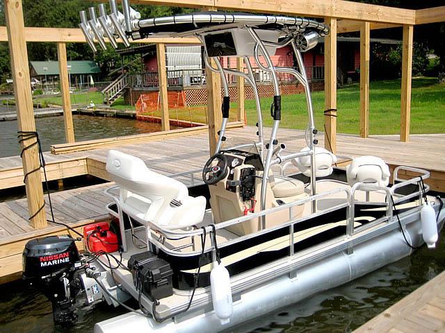 T top for Godfrey Sea Ryder Pontoon / Custom boats 73546-4