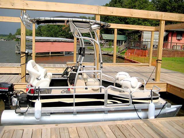 T top for Godfrey Sea Ryder Pontoon / Custom boats 73546-5