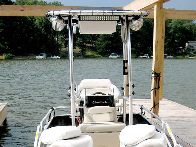 T top for Godfrey Sea Ryder Pontoon / Custom boats 73546-6