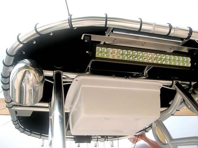 T top for Godfrey Sea Ryder Pontoon / Custom boats 73546-7