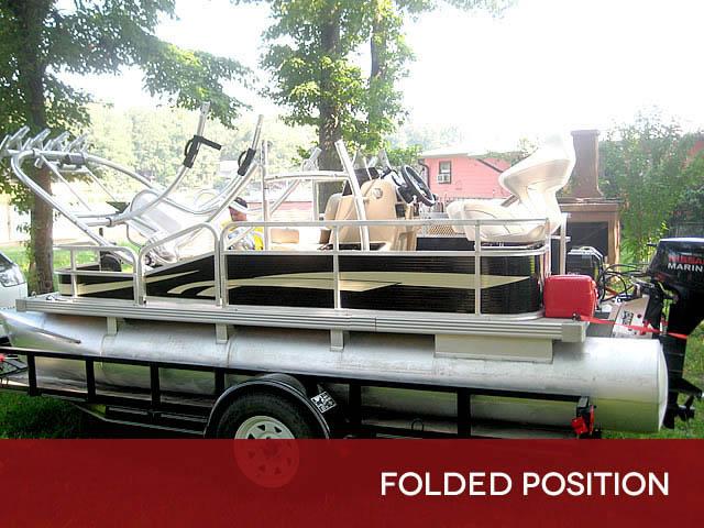 T top for Godfrey Sea Ryder Pontoon / Custom boats 73546-8
