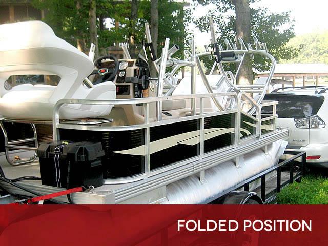 T top for Godfrey Sea Ryder Pontoon / Custom boats 73546-9