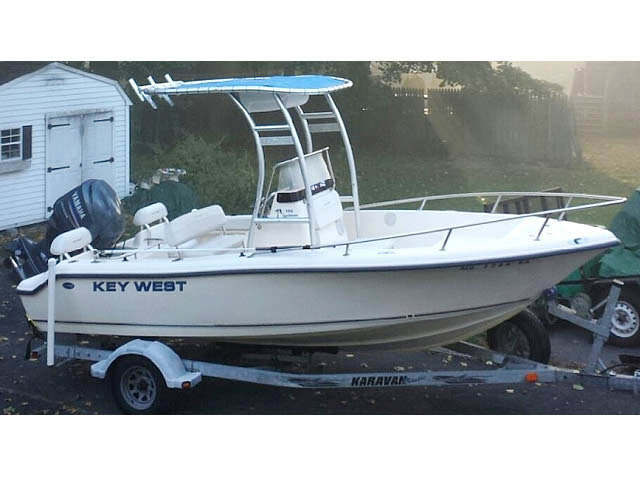 t top for 2005 Key West 186 CC center console boat