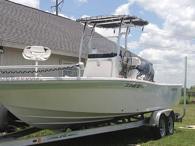 T top for 2012 SeaFox 2200XT Pro boats 76022-2