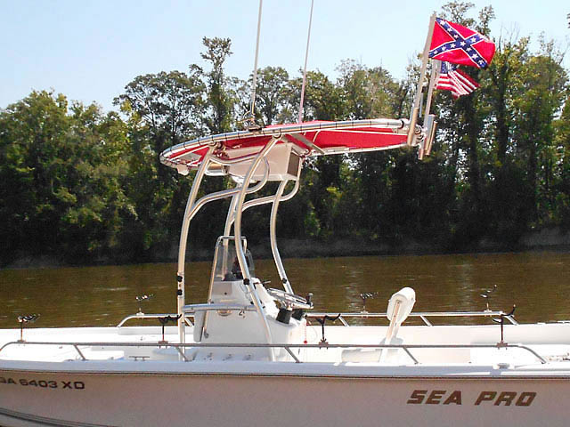T top for 2004 SEAPRO 2100 boats 76054-2