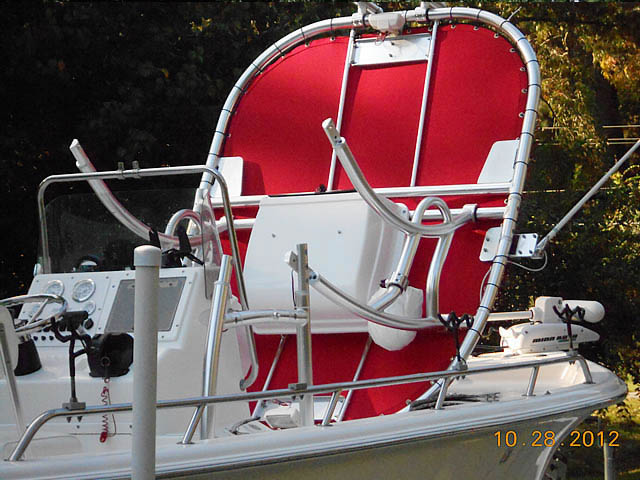 T top for 2004 SEAPRO 2100 boats 76054-3