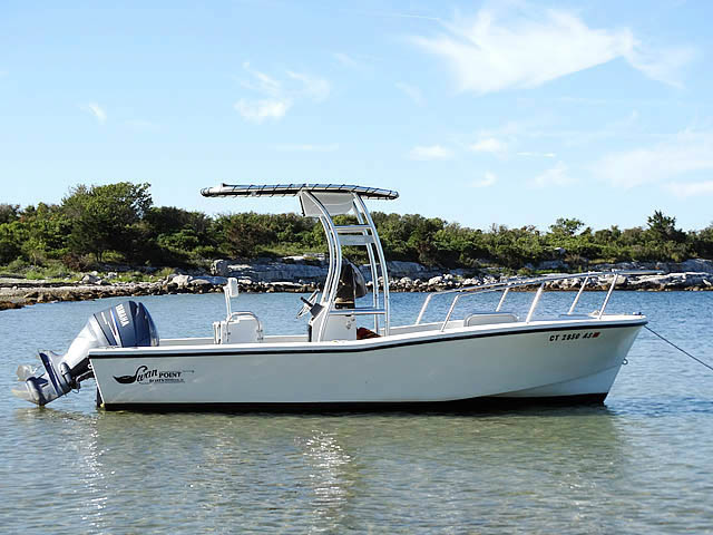 t top for 1990 Swan Point 19' Center Console center console boat