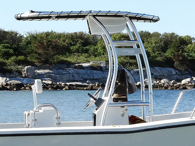 T top for 1990 Swan Point 19' Center Console boats 76068-2