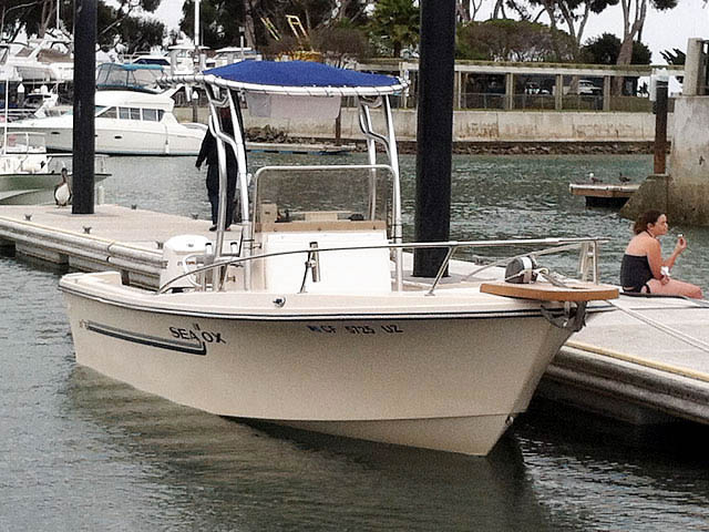 T top for 1986, Sea Ox 20' CC boats 77161-2