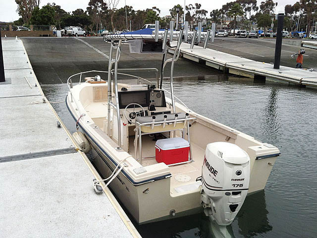 T top for 1986, Sea Ox 20' CC boats 77161-3
