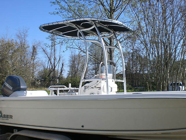 t top for Carolina Seachaser center console boat