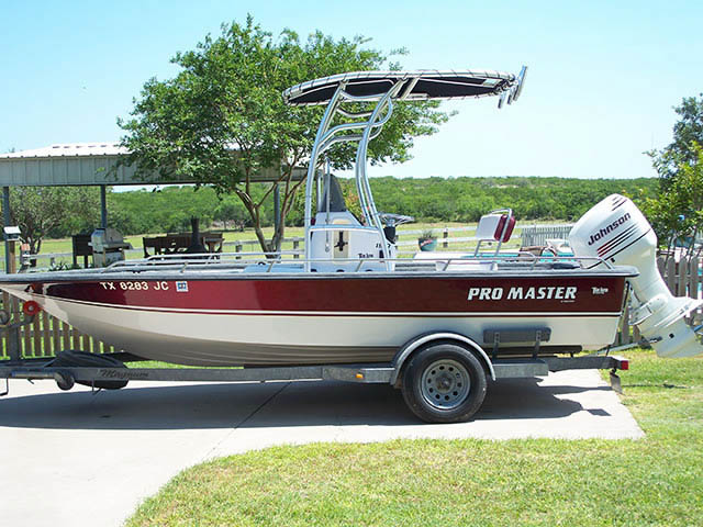 T top for Pro Master boats 7919-2
