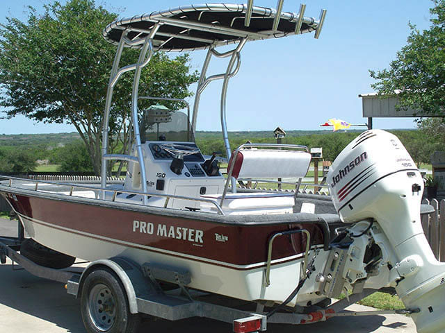 T top for Pro Master boats 7919-3