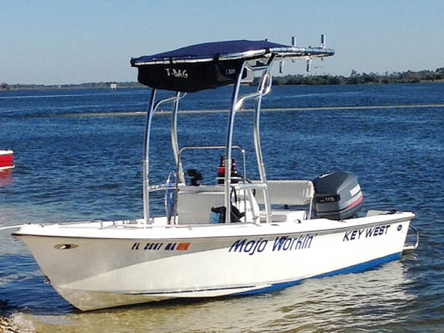 t top for 2000 Key West 1720 center console boat