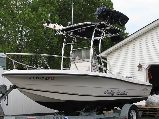 T top for 1998 Sea Pro 180cc Center Console boats 8249-2