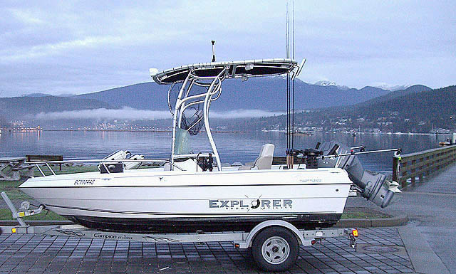 t top for 2007 Campion Explorer 492 center console boat