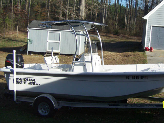 T top for 2009 Carolina Skiff DLV boats 8426-2