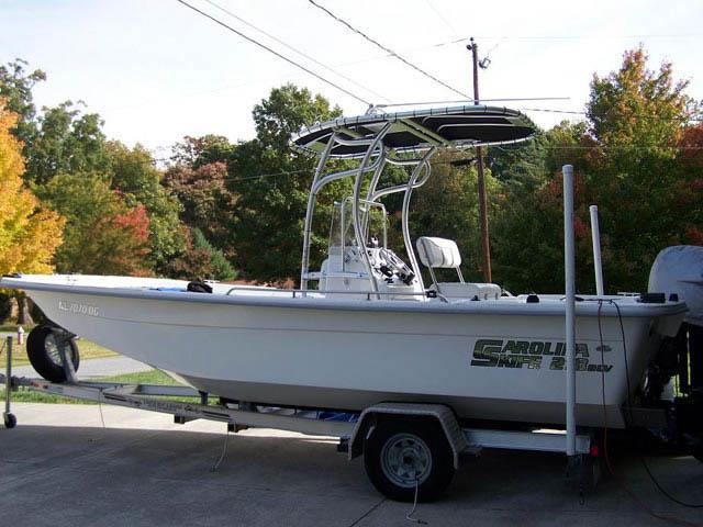 t top for 2007 Carolina Skiff 218DLV center console boat