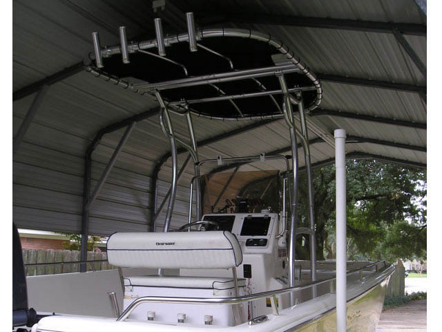 t top for 2008 Clearwater 2400 Baystar center console boat