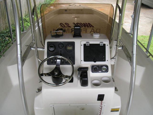 T top for 2008 Clearwater 2400 Baystar boats 8429-5