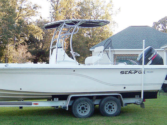 T top for Sea Fox 245 Bay Fish boats 8437-1