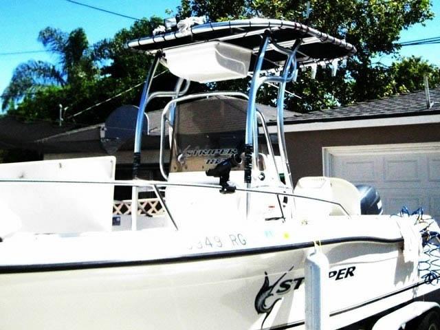 t top for 2005 Seaswirl Striper 1851 Center console center console boat