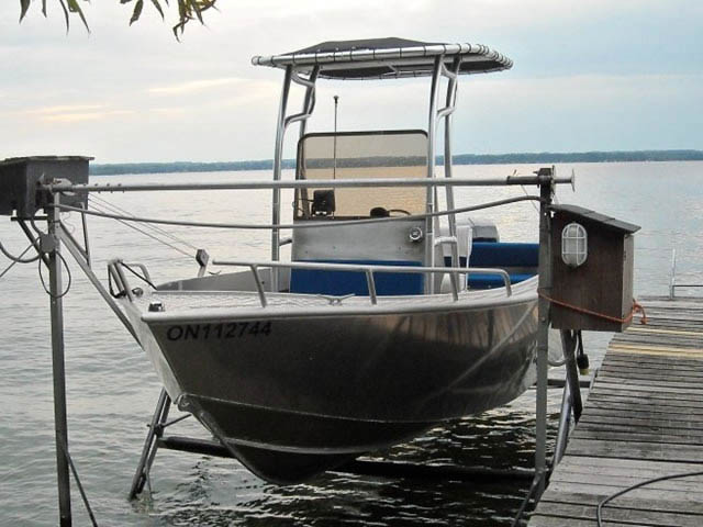 T top for 2008 Stanley Islander 21' boats 9261-2