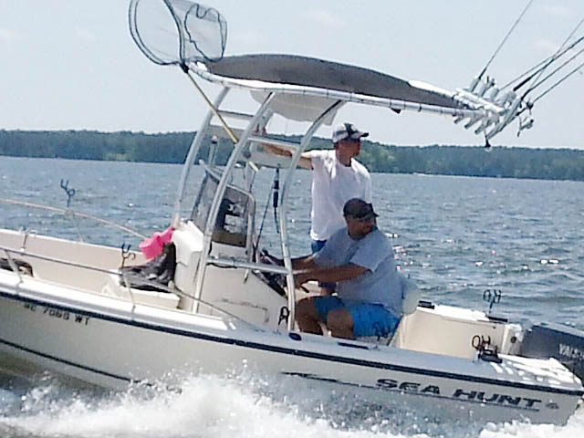 t top for 2003 Sea Hunt Triton 172 center console boat