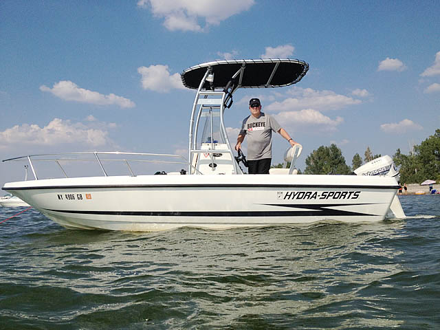 t top for 2000 Hydra Sport 20 LTS center console boat