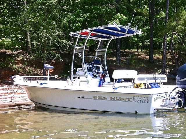 T top for 2007 Sea Hunt BX22T boats 94805-2