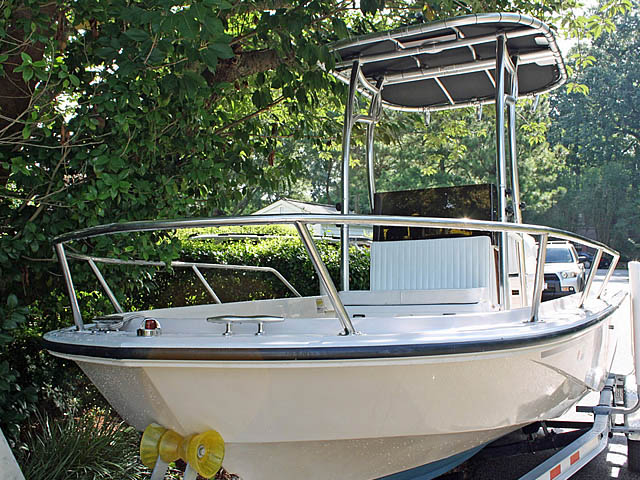 T top for 1992 Boston Whaler Outrage 19 ft boats 94809-4