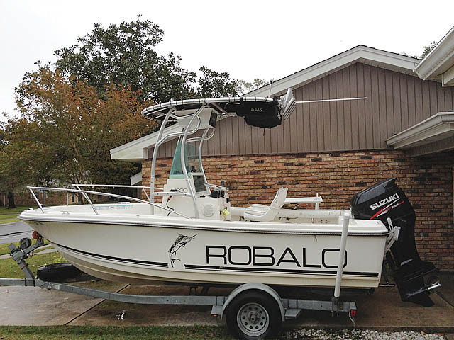 t top for 1996 Robalo 1820 center console boat