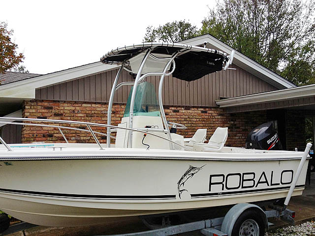 T top for 1996 Robalo 1820 boats 94810-3