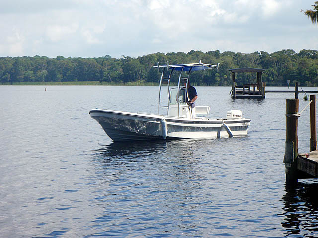 t top for 2011 Pangacraft  22' Panga center console boat