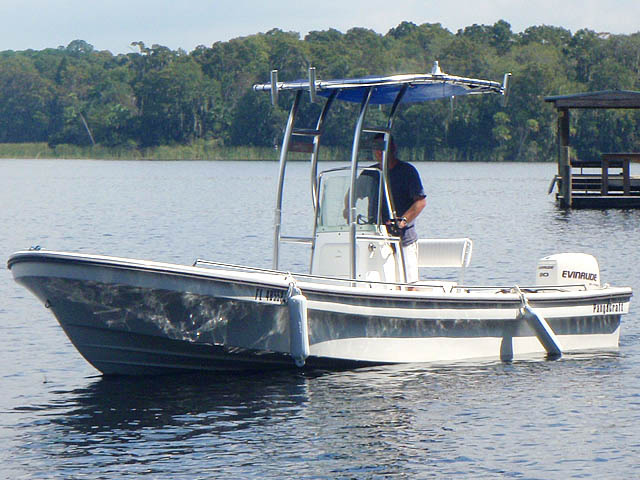 T top for 2011 Pangacraft  22' Panga boats 94827-2