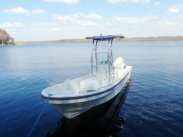 T top for 2011 Pangacraft  22' Panga boats 94827-6