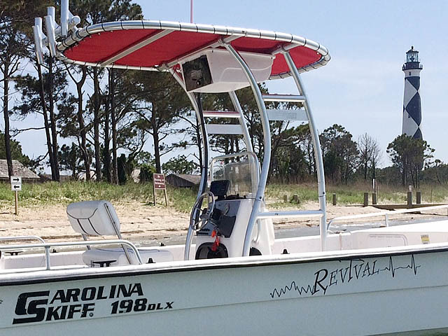 T top for 2008 Carolina skiff boats 94831-2