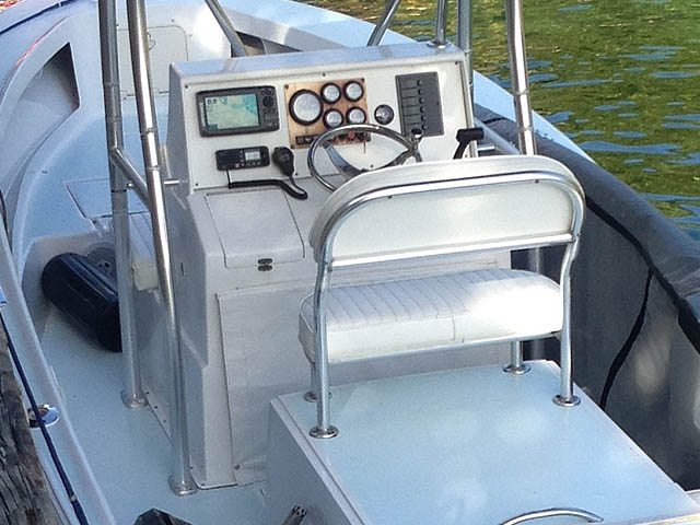 T top for 1972 Sea Craft  19' center console boats 94852-5