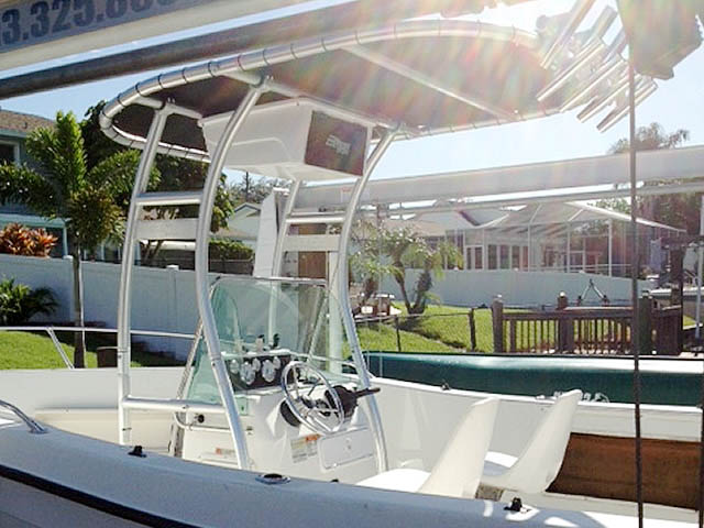 T top for 2000 Seaswirl Stripper 21'  boats 94923-8