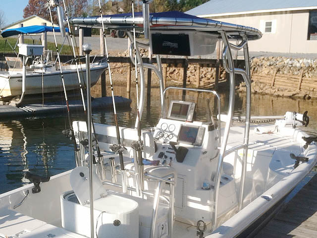 T top for Nauticstar, 2110 Baystar 2010 boats 98677-2